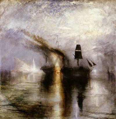 J. M. W. Turner, 'Peace – Burial at Sea', 1842
