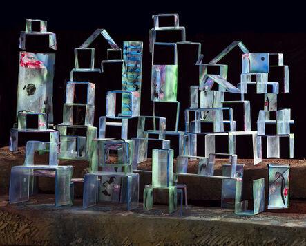 Nico Krijno, 'Electric Stacks', 2018