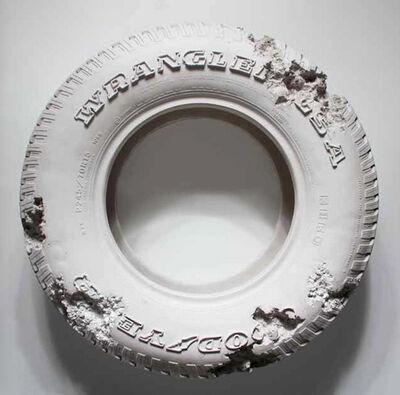 Daniel Arsham, 'Rose Quartz Eroded Tire', 2014