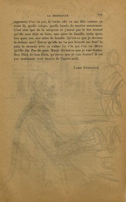 Alberto Giacometti, 'Portrait of a Man', 1950s