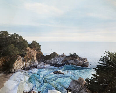 Laura Plageman, 'Response to Print of McWay Falls', 2013