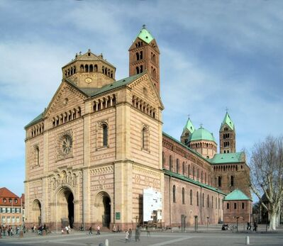 'Speyer Cathedral', ca. 1080-1106 and second half of the 12th century