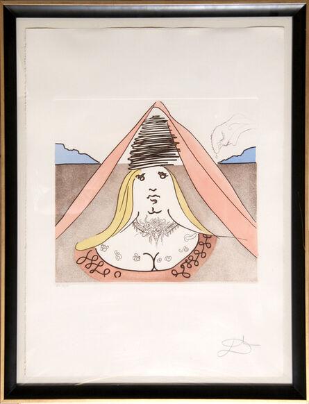 Salvador Dalí, 'The Lady of Dulcinea', 1981