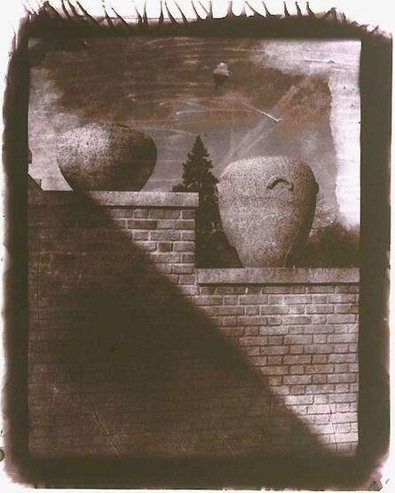Robert Asman, 'Untitled (Brick Wall with Clay Urns)', 1999