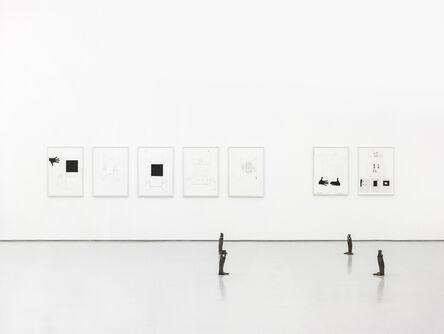 He Xiangyu, 'A Square', 2014-2016