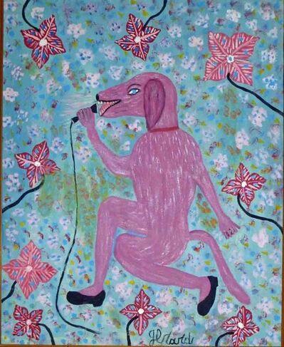 Gerard Fortune (1925-2019), 'The Singing Dog', ca. 1990