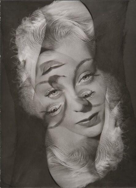 Philippe Halsman, 'Experimental portrait of a woman', 1931-1940
