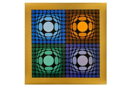 Victor Vasarely, 'Vega Bi Arct', 1973