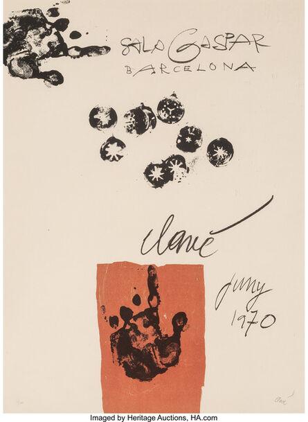 Antoni Clavé, 'Sala Gaspar Barcelona', 1970