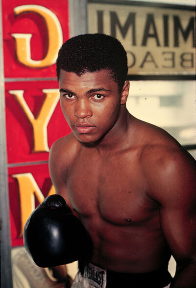Marvin E. Newman, 'Cassius Clay, Fifth Street Gym, Miami', 1963