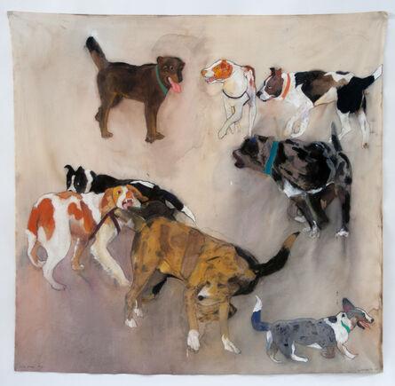 Sherry Markovitz, 'NINE DOGS', 2014