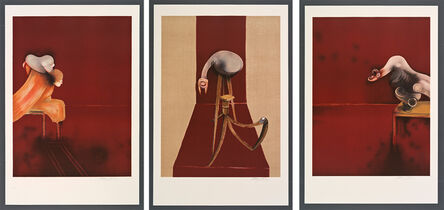 Francis Bacon, '2nd Version of Triptych 1944 (Large Version)', 1988