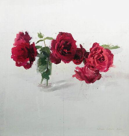 Antonio López García, 'Rosas', 2010
