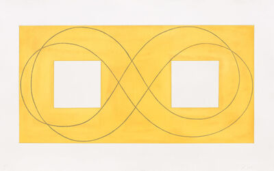 Robert Mangold (b.1937), 'Double Square Frame I', 2015