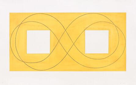 Robert Mangold (b. 1937), 'Double Square Frame I', 2015