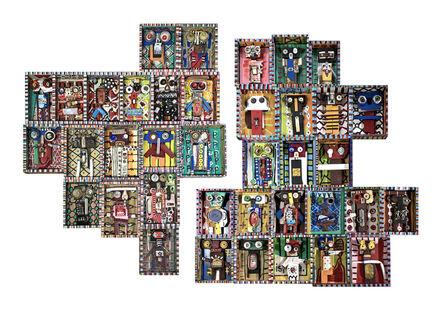 Nelo Teixeira, 'Marca do Passado #1 & #2 - Fragmentos da Chicala series', 2020