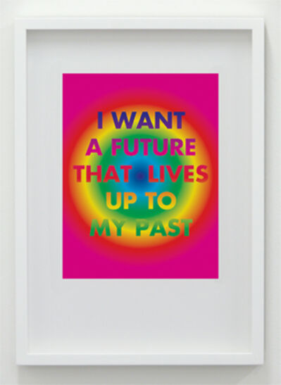 David McDiarmid, 'I Want A Future That Lives Up To My Past (Bullseye)', 1994 / 2012