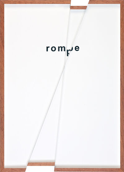 Renata Lucas, 'quadroquadro (rompe)', 2020