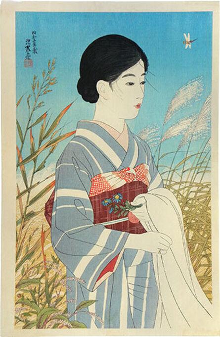 Itō Shinsui, 'Fine Weather in Autumn', 1930