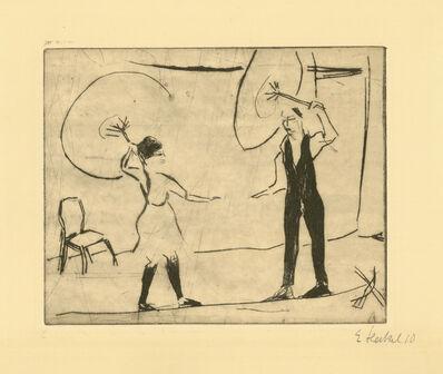 Erich Heckel, 'Seiltänzer', 1908
