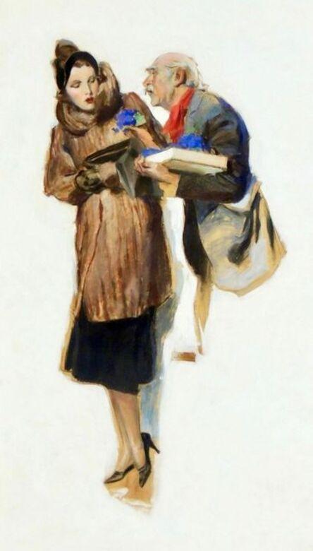 John Lagatta, 'Dismissive Woman', 20th Century