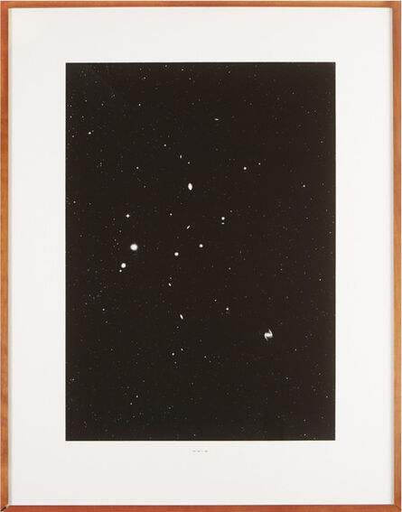 Thomas Ruff, 'Stern(3h 36m/ -35)', 1990