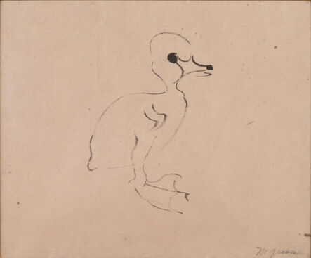Morris Graves, 'Duckling', 1956