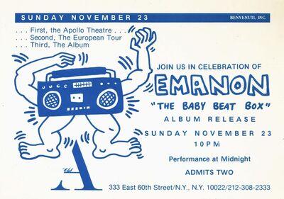 Keith Haring, 'Keith Haring The Baby Beat Box ', 1986
