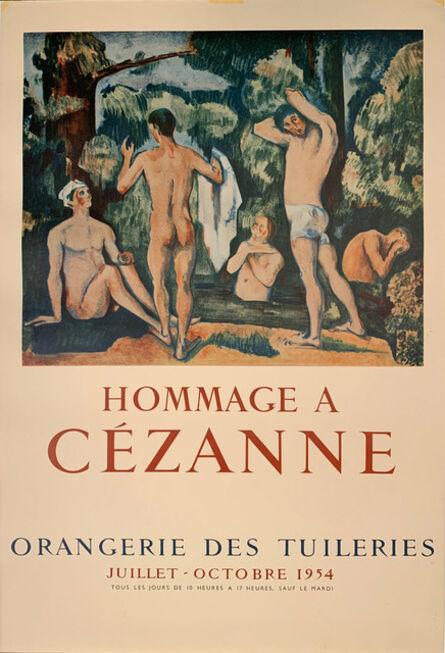 Paul Cézanne, 'Hommage A Cezanne, Orangerie des Tuileries Poster, Gallery Poster ', 1954