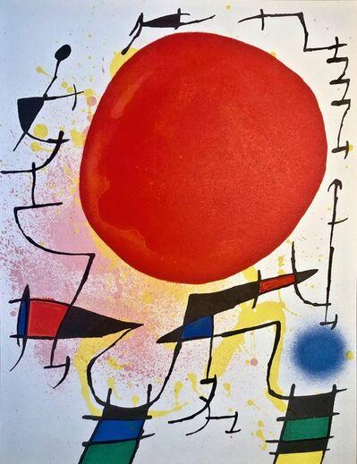 Joan Miró, 'Original Lithograph III', 1972
