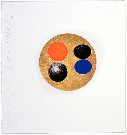 Donald Sultan, 'Donald Sultan, Five Objects, Sept 10, 1999', 1999