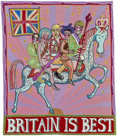 Grayson Perry, 'Britain is Best', 2014