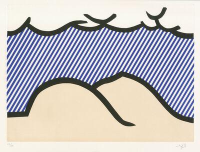 """Roy Lichtenstein, 'Illustration for """"De Denver au Montana, Départ 27 Mai 1972"""" (I) from """"La Nouvelle Chute de l' Amerique"""" (The New Fall of America) ', 1992"""