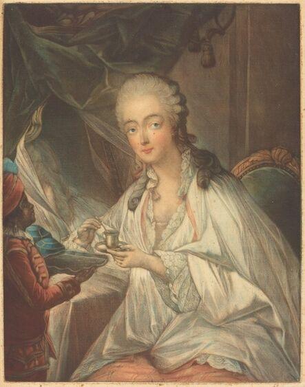 Jean-Baptiste-André Gautier Dagoty after François-Hubert Drouais, 'Madame du Barry'