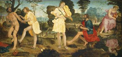 Michelangelo Anselmi, 'Apollo and Marsyas', ca. 1540