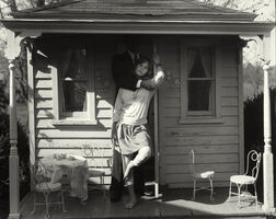 """Sally Mann, 'Untitled from the """"At Twelve"""" Series, Julie, John and Dollhouse', 1983-1985"""
