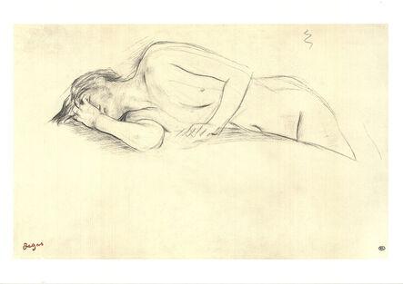 Edgar Degas, 'Naked Woman Lying on Her Stomach', 1997
