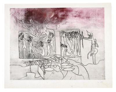Roberto Matta, 'Judgement: Genocide', 1967