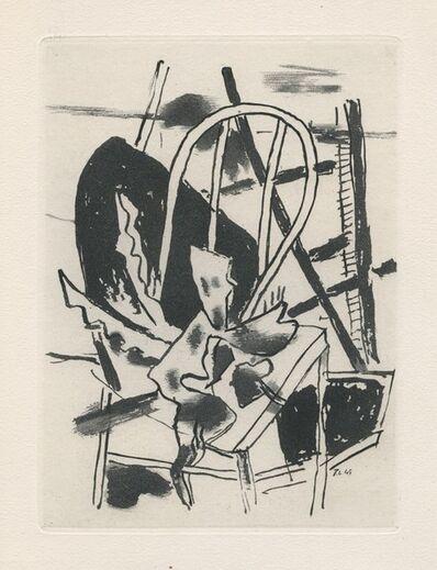 Fernand Léger, 'La chaise', 1947