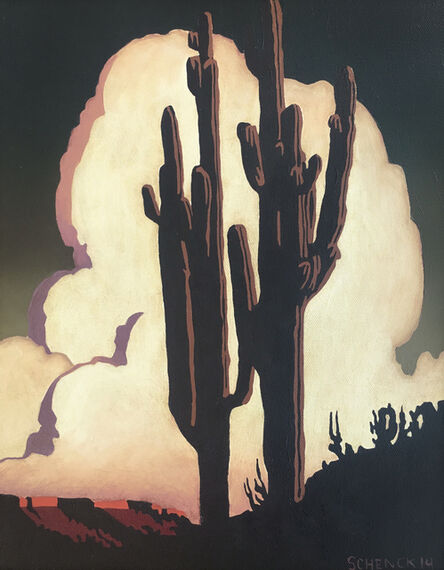 Billy Schenck, 'Towering Clouds', 2014