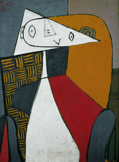 Pablo Picasso, 'Figure (Femme assise) (Figure, Seated Woman)', 1930