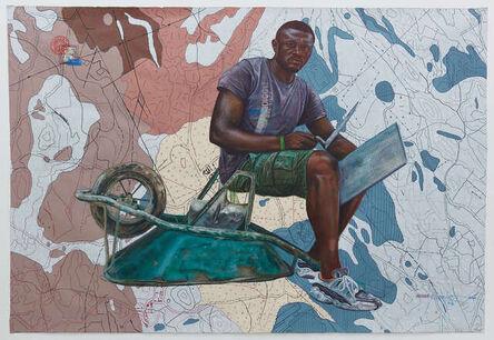 Jean David Nkot, 'www/boozalleur des lieux.cm.org', 2021