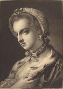 Thomas Frye, 'Imaginary Portrait of an English Beauty', 1762