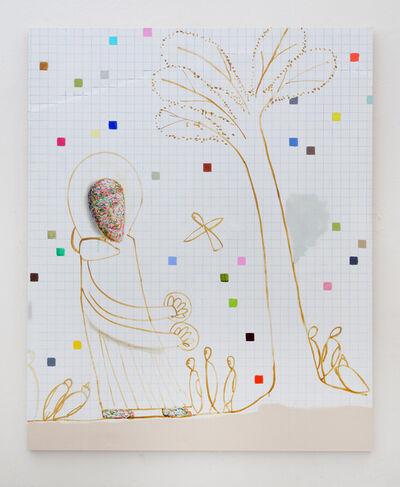 Luca Bertolo, 'San Francesco parla agli uccelli #2', 2016