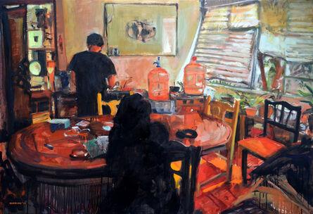 Miguel Ángel Garrido, 'Preparando el té', 2014