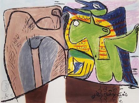 Le Corbusier, 'Unité, Planche 3 (Set of 2)', 1965