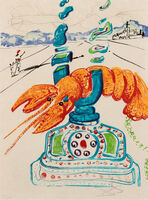 Salvador Dalí, 'Imagination and Objects of the Future (complete portfolio of 11 including Dalinean Prophecy)'