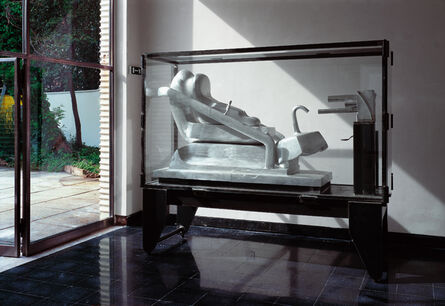 Bruno Gironcoli, 'Ohne Titel (Große Stahlvitrine)', 1972-1995