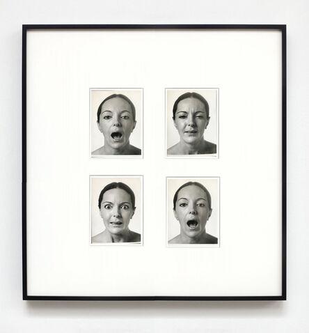 Ketty La Rocca, 'Autoritratto', 1974