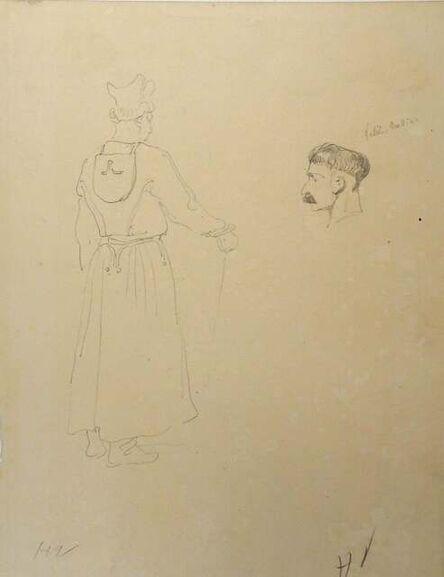 Horace Vernet, 'Portraits', Mid 1800